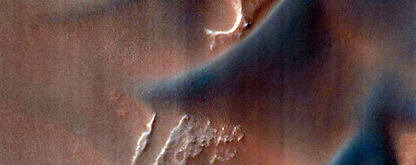 Slipping and Sliding in Coprates Chasma