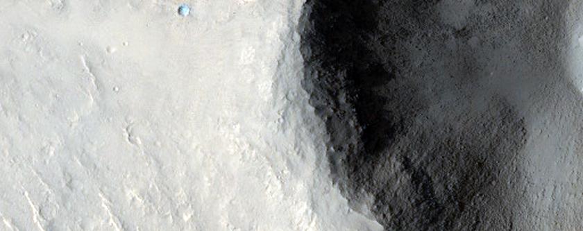 Portion of Beagle 2 Landing Ellipse in Isidis Planitia