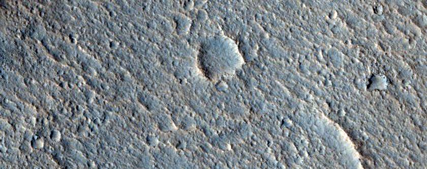 Possible Mars Pathfinder Landing Site