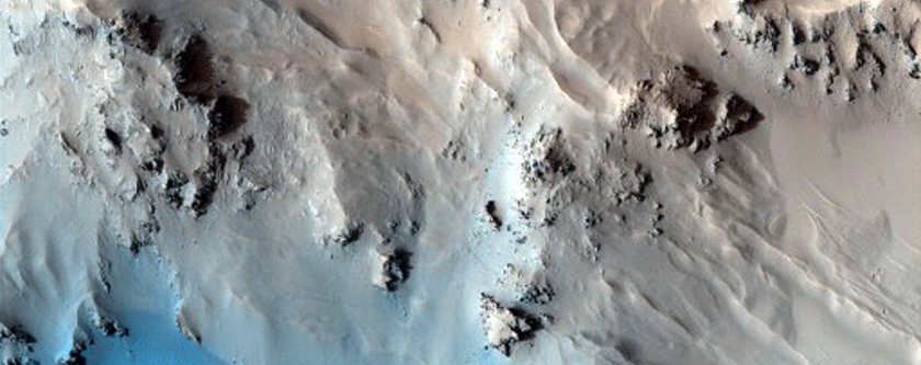 Mojave Crater Central Uplift