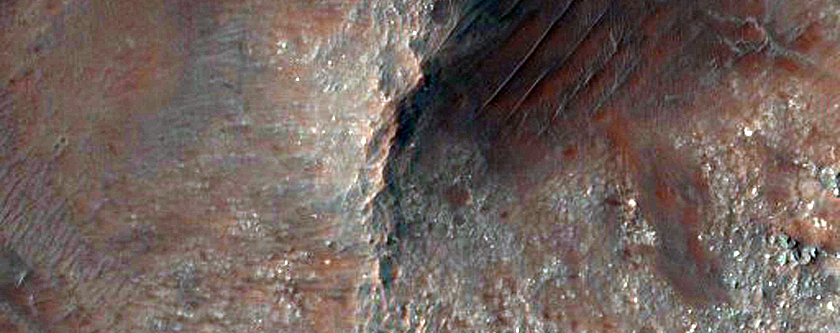 Central Uplift of Ritchey Crater