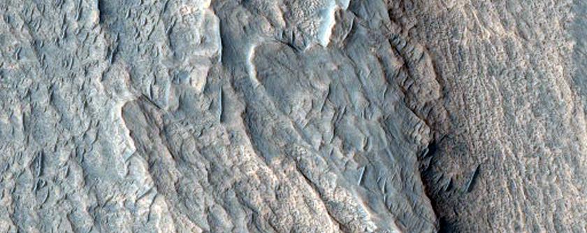Interior Layered Deposits in Candor Chasma