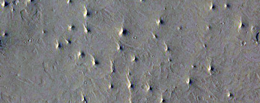Proposed MSL Site in Southwest Arabia Terra