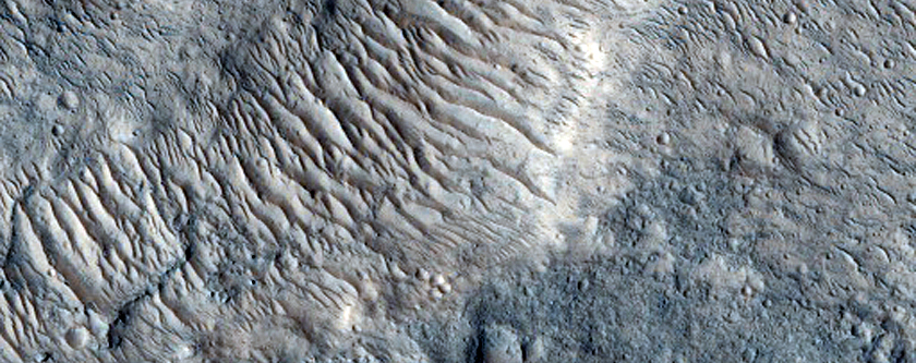 Proposed MSL Site in Xanthe/Hypanis Vallis