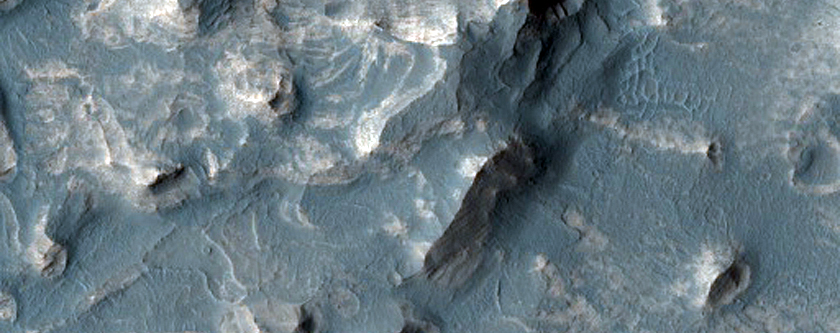 Survey Layering and Faulting in Layered Deposits