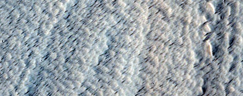 Glacier-Like Flow on Arsia Mons Flank
