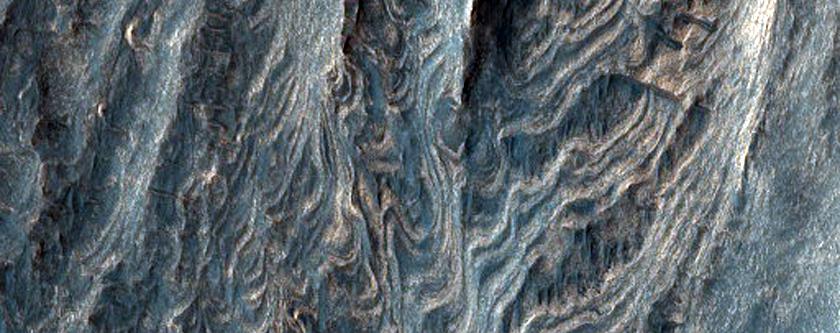 Interior Layered Deposits in Juventae Chasma