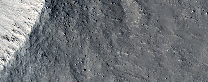Unnamed Fresh Crater