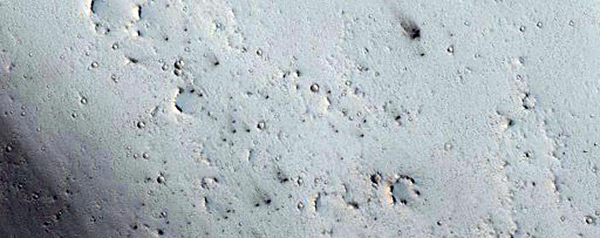 New Dark Spot Impact Crater
