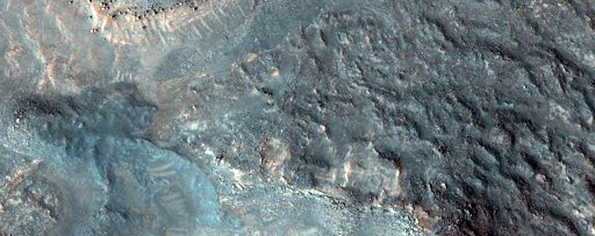 Rocky Mesas of Nilosyrtis Mensae Region