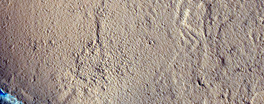 Cerberus Fossae and Diverse Morphologies