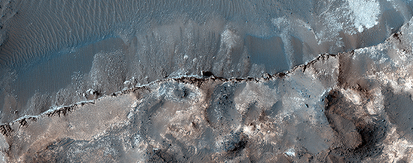 Layered Deposits in Ritchey Crater