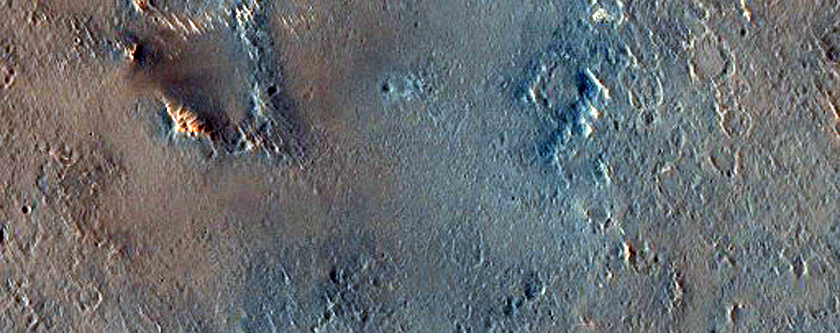 Proposed MSL Site in North Meridiani