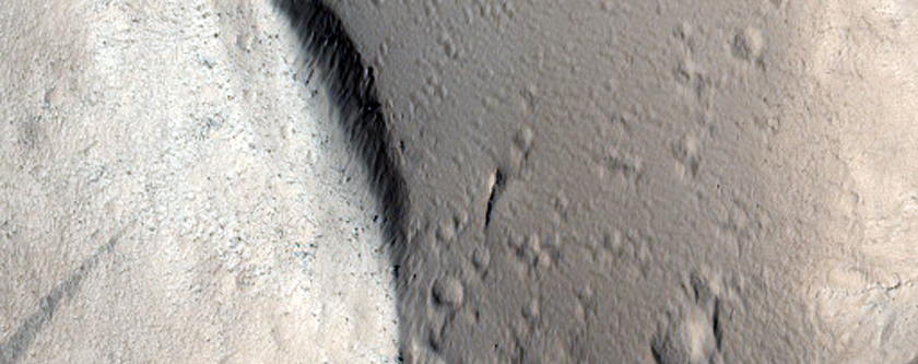 Edge of Olympus Mons
