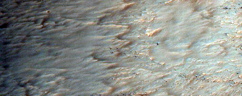 Gully Channels That Are Wider Downslope - Unusual