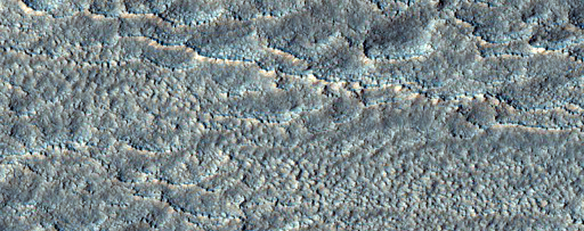 Student Image of the Week: Debris Apron South of Euripus Mons