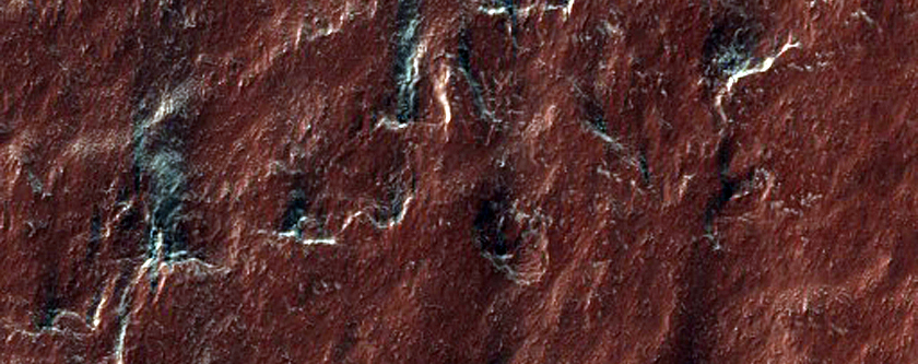 South Polar Layer Terraces