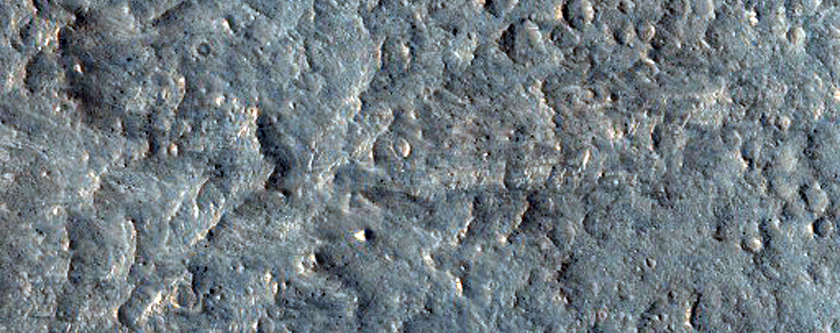 Proposed MSL Site in East Melas Chasma