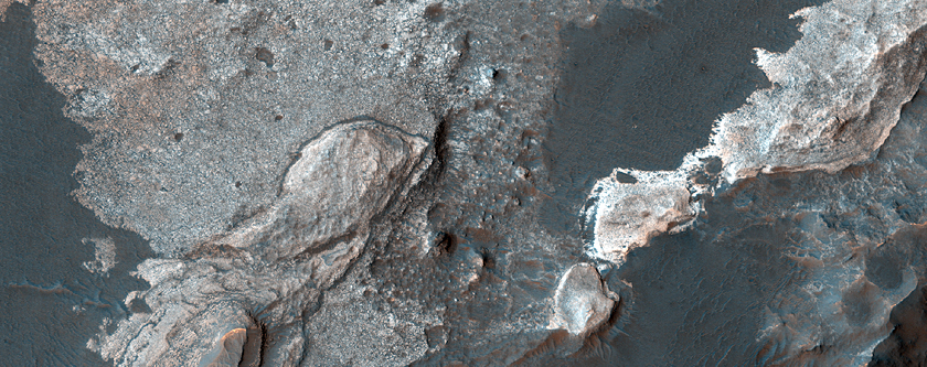 Layers in Eberswalde Crater