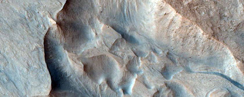 36 Gullies Previously Identified and Fully Described in MOC Image M03-03547