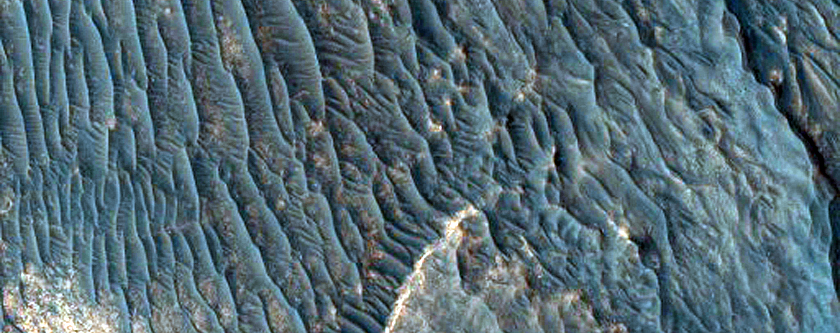 Light-Toned Outcrop in Aureum Chaos