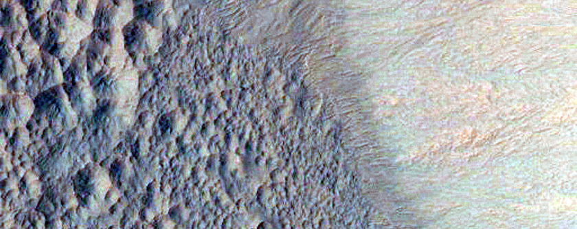 Fresh Crater with Gullies