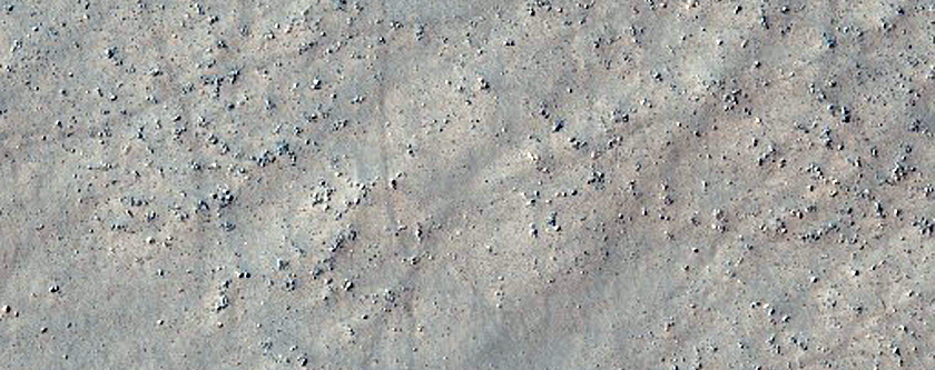 Patterned Ground in South Noachis Terra