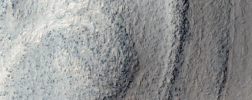 Layered Sinuous Ridge in Argyre Planitia