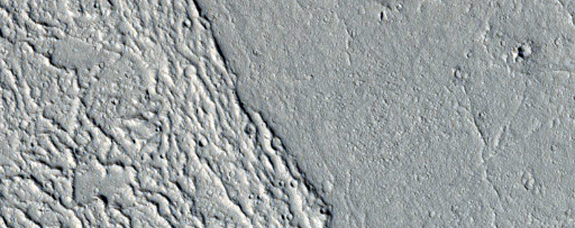 Lava Flows in Kasei Valles