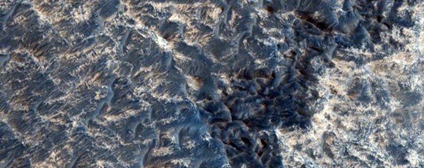 Possible Kieserite in Northern Meridiani Region Etched Plains
