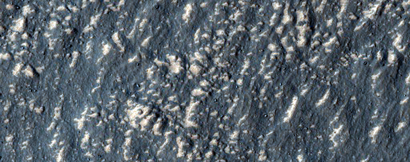 Famous Mesa with Lobate Apron in Reull Vallis Area