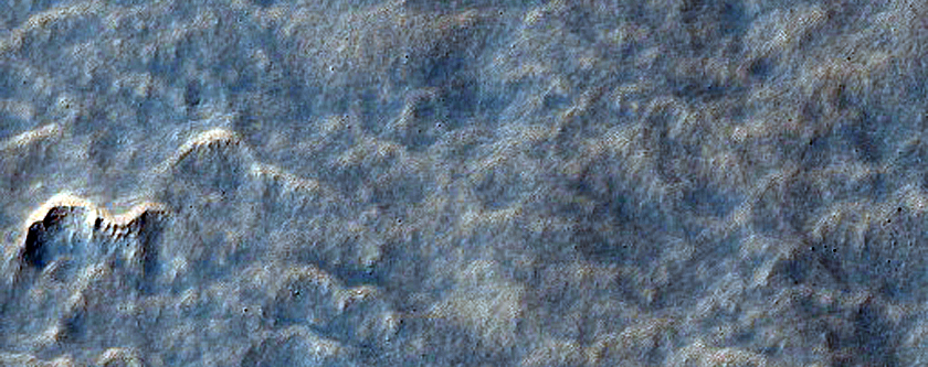 Scalloped Terrain at Peneus Patera