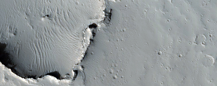 Small Volcano in Tharsis