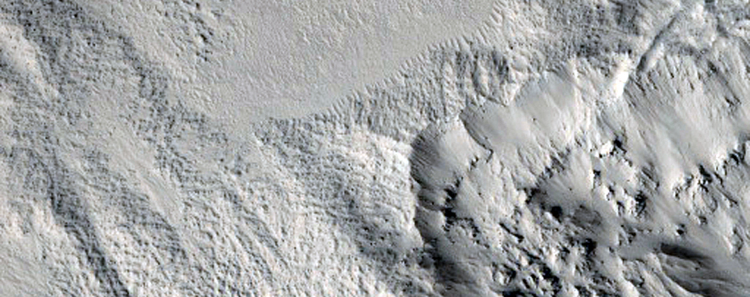 Western Region of Zunil Crater