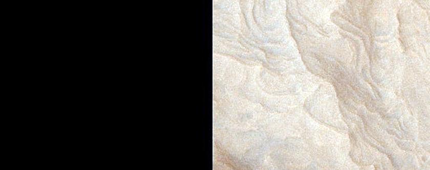 Interior Layered Deposit in Melas Chasma