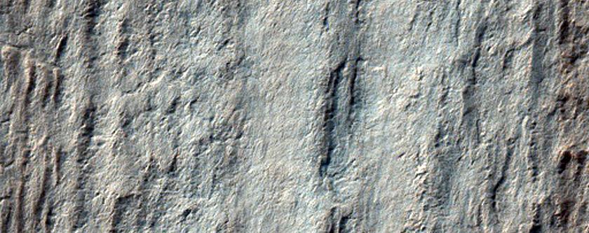 Polar Layered Deposit Stratigraphy Near Chasma Australe