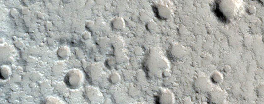 Elysium Mons Caldera