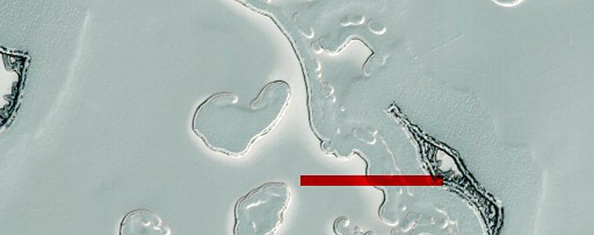South Pole Residual Cap Swiss-Cheese Terrain Monitoring