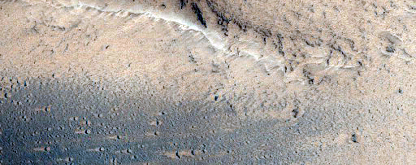 Faults in Melas Chasma Wall