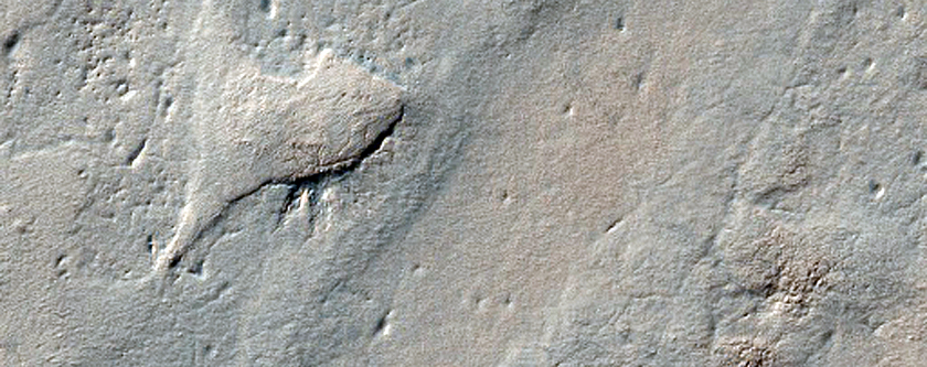 Exposure of Polar Layered Deposits Not Observed by Mars Global Surveyor