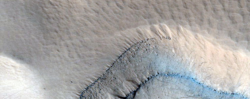 The Edge of Olympus Mons