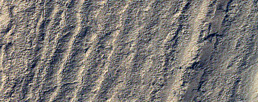 Exposure of High-Latitude Polar Layered Deposits Not Well Observed