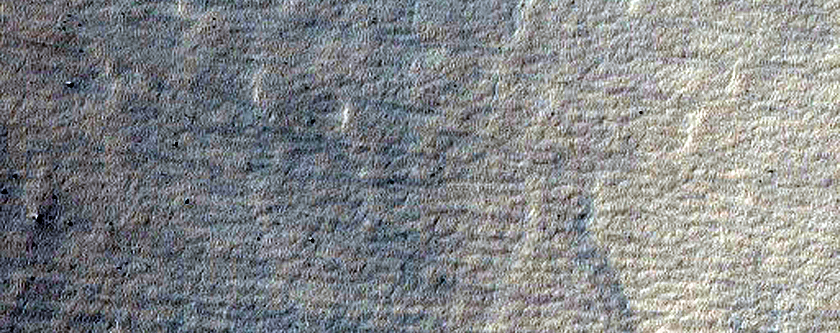 Gullies in Mantle Terrain in Sisyphi Planum
