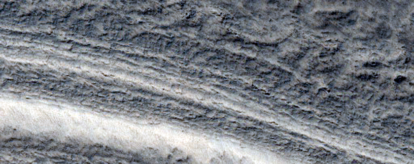 Faulting in South Polar Layered Deposits