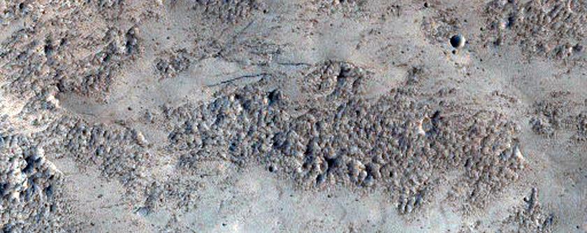 Terra Sabaea Crater Rim