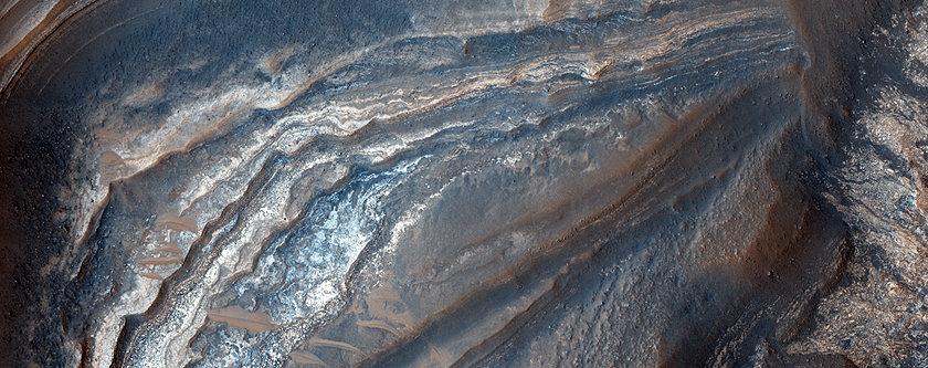 Light-Toned Layering in a Noctis Labyrinthus Pit