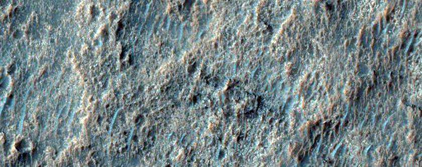 Noachis Region Ridges