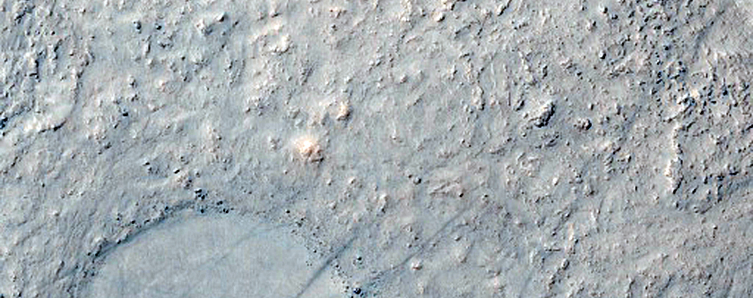 Channel with Depression in Frento Vallis