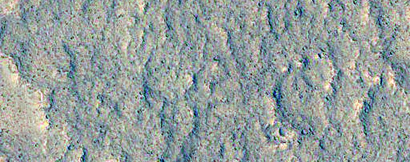 Trough Near Juventae Chasma