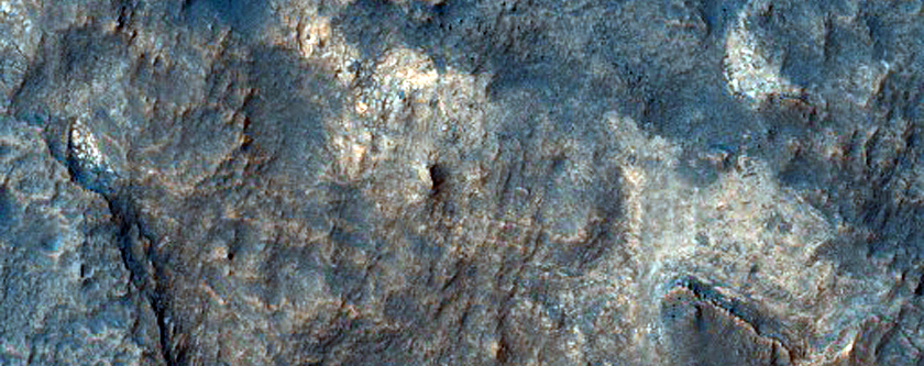Proposed MSL Site in Terby Crater